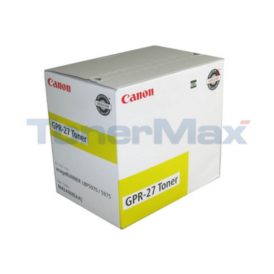 CANON GPR-27 TONER YELLOW